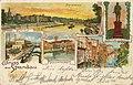 Berlin, Spandau, Berlin - Panorama; Bahnhof; Kaiser-Friedrich-Denkmal (Zeno Ansichtskarten).jpg