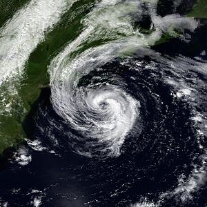 1990 Atlantic hurricane season - Image: Bertha 31 July 1990