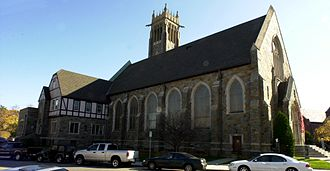 Bethany Congregational Church (Quincy, Massachusetts) - Image: Bethany Congregational Church Quincy MA 04