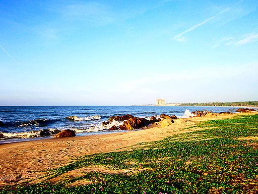 Biển ở Hồ Cóc
