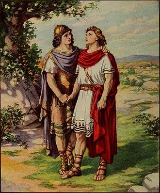 Jonathan (name) - Jonathan and David