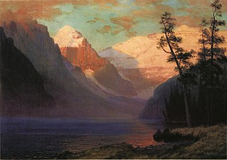 Evening Glow at Lake Louise, Rocky Mountains, Canada