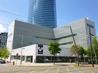 University of the Basque Country - Bizkaia Aretoa, main hall of the University of the Basque Country in Bilbao.