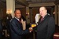 Billy Davis and Alvin Smith, Bahamas Speaker of House 2-14-08.jpg