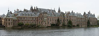 Binnenhof - The Hague's Binnenhof with the Hofvijver