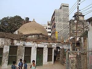 History of Dhaka - Binat Bibi Mosque (1454) – the earliest known mosque surviving in Dhaka