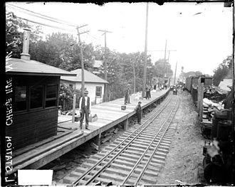 Northwestern Elevated Railroad - Jarvis