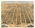 Bird's eye view of the city of Urbana, Champaign County, Illinois 1869. LOC 73693375.tif