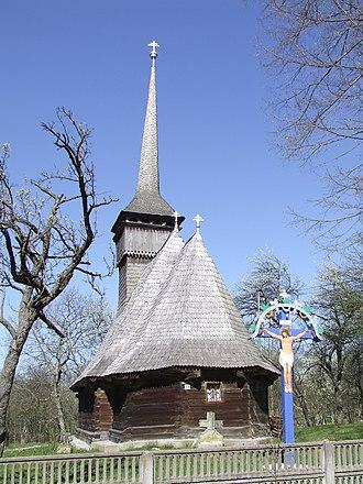 Letca - Image: Biserica din Purcaret
