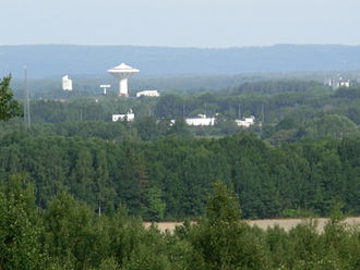 Närke - View over the surroundings of Örebro, Närke
