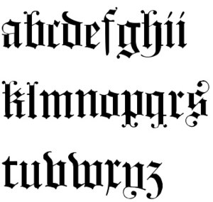 Hours of Gian Galeazzo Visconti - Example of Blackletter Calligraphy