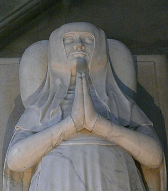 Blanche of France, Duchess of Orléans - Tomb of Blanche in Notre-Dame