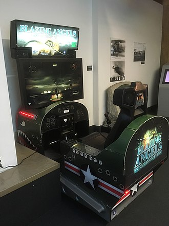Blazing Angels: Squadrons of WWII - Blazing Angels was also released in a sit-down arcade cabinet version.