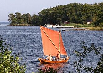 Blekinge archipelago - Image: Blekingeeka 1