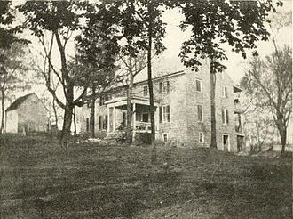 LaRue family - Bloomfield, seen here about 1920, is the oldest LaRue home still standing.