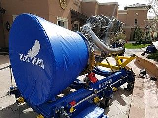 BE-4 Large staged combustion rocket engine under development by Blue Origin