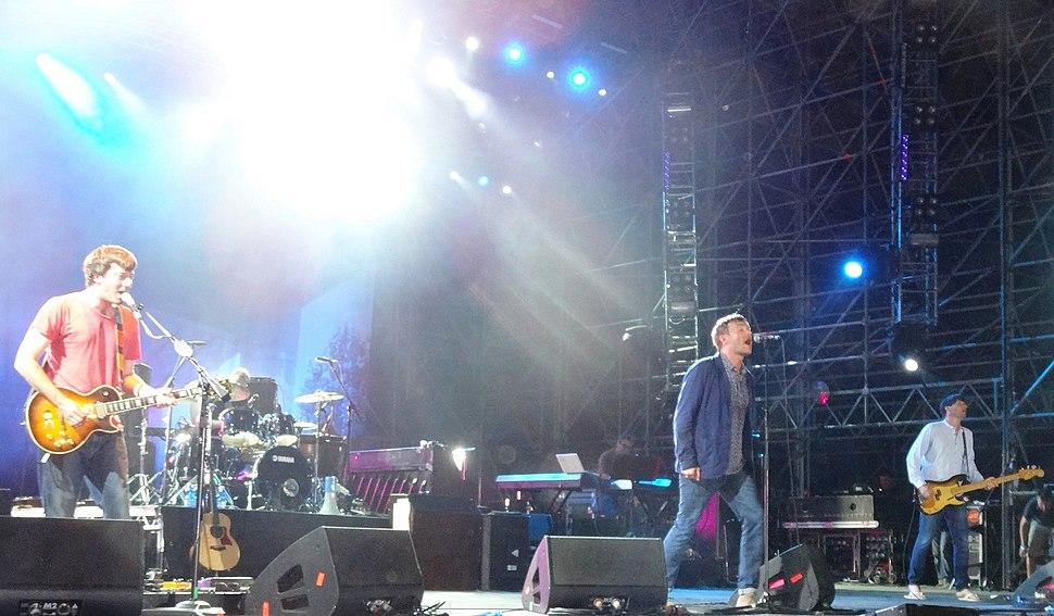 Blur live 29.07.2013 in Rome