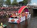Boat 36 Frank, BNN, 3FM, Canal Parade Amsterdam 2017 foto 1.JPG