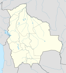 Uncía Municipality is located in Bolivia
