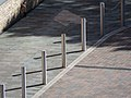 Bollards in Haringey London England 1.jpg