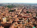 Bologna the red, seen from the top of the Tower, Bologna, Italy.JPG