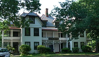 Bon Air, Virginia - The 1881–82 Stick style annex for the Bon Air Hotel, which survived the fire that destroyed the main hotel in 1889.