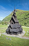 Borgund Stave Church in Lærdalen, 2013 June.jpg