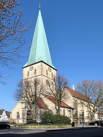 Borken, North Rhine-Westphalia - Image: Borken, Propsteipfarre Sankt Remigius foto 8 2012 03 28 16.05