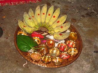 Bengali Muslim wedding - Auspicious items used to ward off evil eye in all Hindu ceremonies