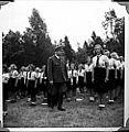 Borrestevnet 1943, Vidkun Quisling og jentehirden. (8618893674).jpg