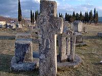 Bosniangraves bosniska gravar februari 2007 stecak stecci1.jpg
