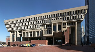 Brutalist architecture - Boston City Hall is a controversial and prominent example of the Brutalist architectural style. It was designed by Kallmann McKinnell & Knowles (architects) with Campbell, Aldrich & Nulty (architects) and Lemessurier Associates (engineers).