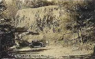 Madison, New Hampshire - Madison Boulder c. 1922