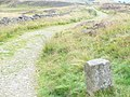 Boundary Stone on West Lomond Path - geograph.org.uk - 1449423.jpg