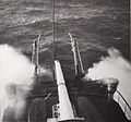 Bow of warship in agitated sea-Bougault-img 3147.jpg
