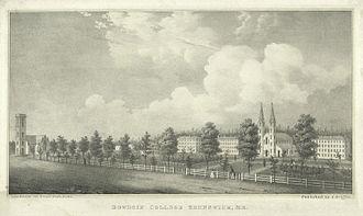 Fitz Henry Lane - Image: Bowdoin College 1845