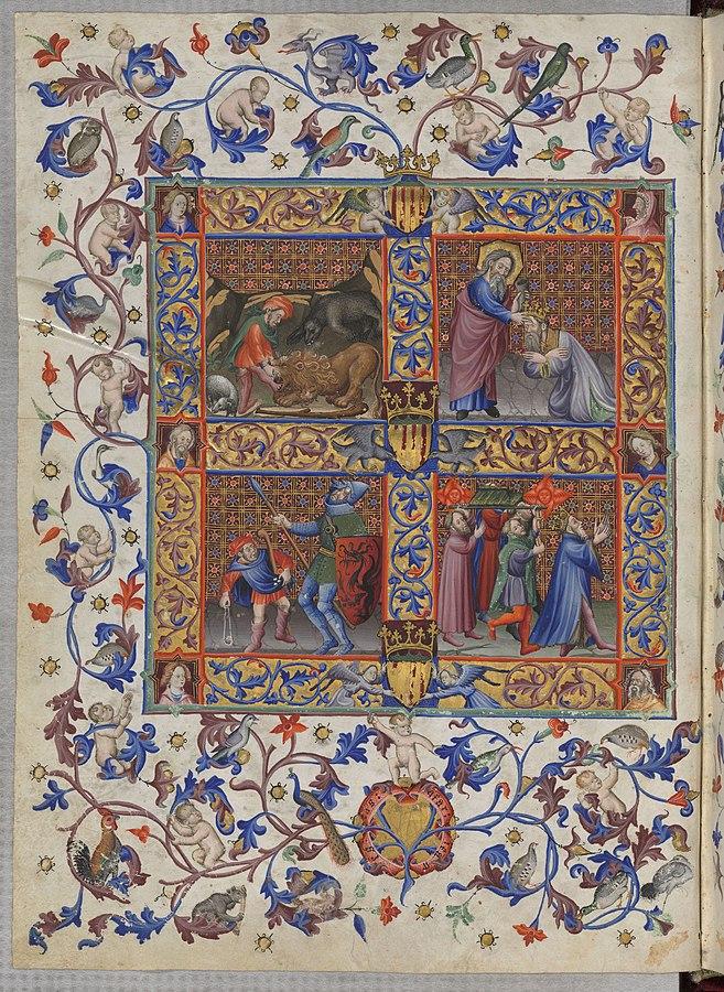 Brevario di Martino I d'Aragona