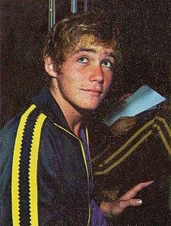 Brad Cooper Australian swimmer, Olympic gold medallist, former world record-holder