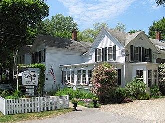 Brewster (CDP), Massachusetts - Bramble Inn