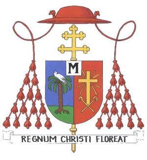 Português: Brasão Cardinalício do Cardeal Fran...