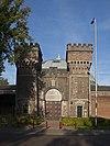 foto van De Koepel gevangenis, poort