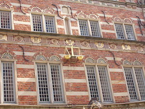 Stadtwaage (Bremen) - Details of the faҫade