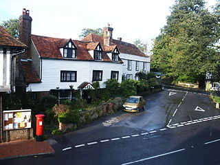 Brenchley Human settlement in England