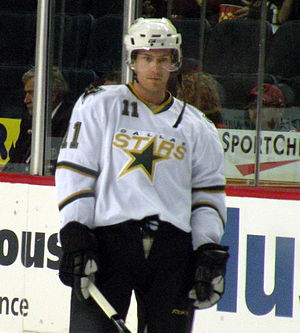 Brendan Morrison - Morrison during his tenure with the Stars