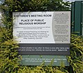 Brethren Meeting Room, Petworth Road, Wormley (June 2015) (Sign).JPG