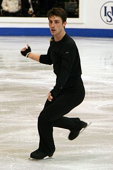 Brian Joubert at 2009 World Championships – Selection.jpg