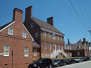 Brice House (Annapolis, Maryland) - Brice House, July 2009