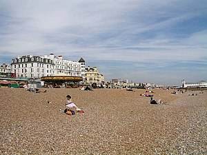 Quadrophenia - The second half of Quadrophenia takes place on and around Brighton Beach.