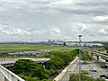 Brisbane CBD seen from Brisbane International Terminal, Brisbane, Queensland 02.jpg