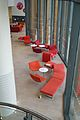 Bristol and Bath Science Park, Forum red seating.jpg